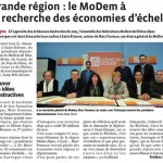 réunion des fédérations Modem